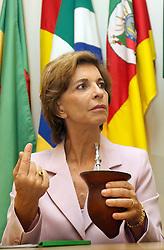 A candidata ao governo do Estado do RS Yeda Crusius visita a sede do MTG - Movimento Tradicionalista Gaúcho, em Porto Alegre FOTO: Jefferson Bernardes/Preview.com