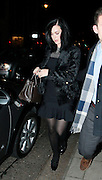 09.DECEMBER.2013. LONDON<br /> <br /> CODE - JG<br /> <br /> KATY PERRY AND ELLIE GOULDING DINE OUT AT 34 MAYFAIR<br /> <br /> BYLINE: EDBIMAGEARCHIVE.CO.UK<br /> <br /> *THIS IMAGE IS STRICTLY FOR UK NEWSPAPERS AND MAGAZINES ONLY*<br /> *FOR WORLD WIDE SALES AND WEB USE PLEASE CONTACT EDBIMAGEARCHIVE - 0208 954 5968*