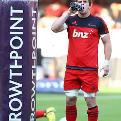 DURBAN, SOUTH AFRICA - MARCH 26: Matt Todd of the BNZ Crusaders during the Super Rugby match between Cell C Sharks and BNZ Crusaders at Growthpoint Kings Park on March 26, 2016 in Durban, South Africa. (Photo by Steve Haag)<br /> <br /> images for social media must have consent from Steve Haag