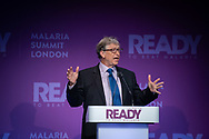 THE MALARIA SUMMIT LONDON 2018<br /> Opening Session: Setting the Scene<br /> Keynote address: Bill Gates, Co Chair Bill &amp; Melinda Gates Foundation. <br /> Photo&copy;Steve Forrest/WHO/Panos