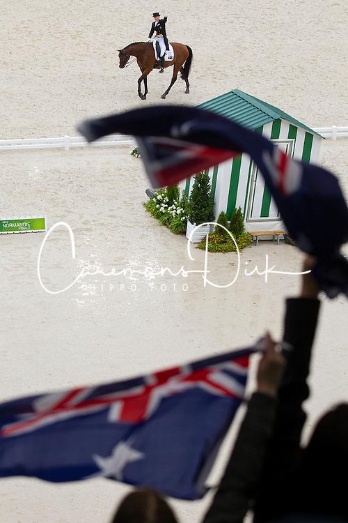Lyndal Oatley, (AUS), Sandro Boy 9 - Grand Prix Team Competition Dressage - Alltech FEI World Equestrian Games™ 2014 - Normandy, France.<br /> © Hippo Foto Team - Leanjo de Koster<br /> 25/06/14