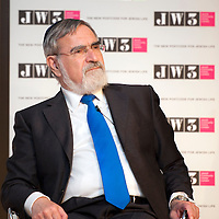 04.07.2013 &copy; Blake Ezra Photography Ltd 2013. <br /> Test event at JW3 London, featuring a conversation with Dame Vivienne Duffield and Chief Rabbi Lord Sacks, Chaired by Daniel Finkelstein. <br /> Not for forwarding or commercial use. <br /> www.blakeezraphotography.com