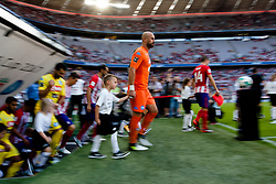 August 1, 2017 - Munich, Germany - Pape Reina during the Audi Cup 2017 match between Club Atletico de Madrid and SSC Napoli at Allianz Arena on August 1, 2017 in Munich, Germany. (Credit Image: © Paolo Manzo/NurPhoto via ZUMA Press)