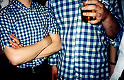 Blue Check Shirts, Mod Club