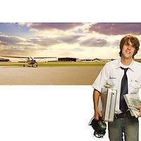 Portrait of a flight instructor