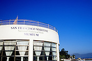 Image of the San Francisco Maritime National Historical Park Museum, San Francisco, California, America west coast