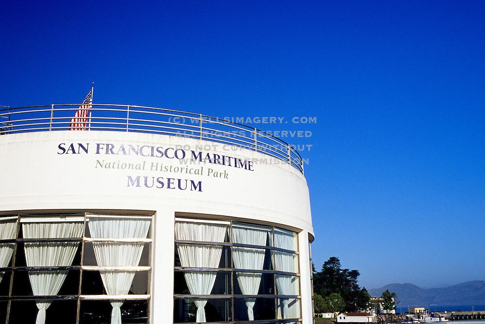 Image of the San Francisco Maritime National Historical Park Museum, San Francisco, California, America west coast