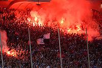 Supporters Bordeaux / Fumigenes   - 09.05.2015 - Bordeaux / Nantes  - 36eme journee de Ligue 1<br />Photo :  Caroline Blumberg / Icon Sport