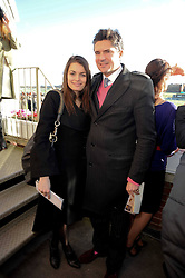 EDWARD TAYLOR and JENNIFER MEDHURST at the Hennessy Gold Cup 2009 held at Newbury Racecourse, Berkshire on 28th November 2009.
