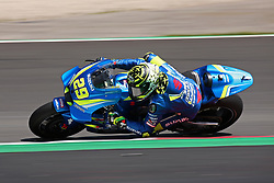 May 23, 2018 - Barcelona, Spain - Andrea Iannone (Team Suzuki Ecstar) during the Moto GP test in the Barcelona Catalunya Circuit, on 23th May 2018 in Barcelona, Spain. (Credit Image: © Joan Valls/NurPhoto via ZUMA Press)