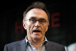 "© Licensed to London News Pictures . 21/05/2015 . Manchester , UK . DANNY BOYLE at the "" HOMEwarming weekend "" - the official opening of HOME - the new £25million arts venue on First Street in Manchester , consisting of cinema complex , theatres and galleries and formerly housed at The Corner House and the Library Theatre , on Manchester's Oxford Road .  Photo credit : Joel Goodman/LNP"
