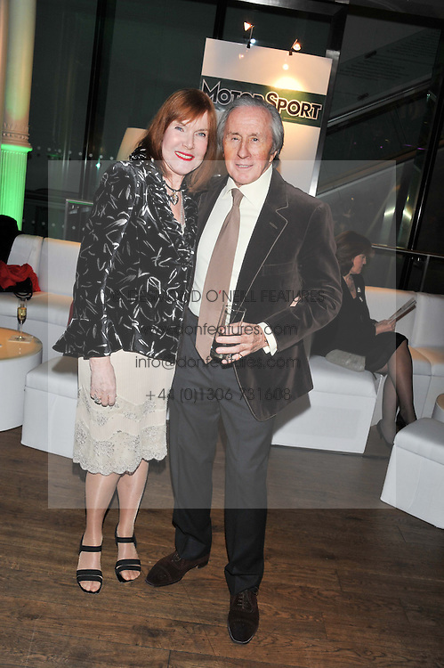 SIR JACKIE & LADY STEWART at the Motor Sport magazine's 2013 Hall of Fame awards at The Royal Opera House, London on 25th February 2013.