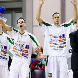 20091024: Basketball - Adriatic NLB League - KK Union Olimpija vs Crvena zvezda