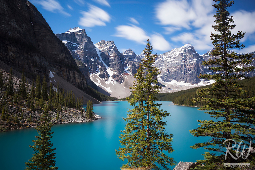 Moraine Lake & The Valley of Ten Peaks, Banff National Park, Alberta, Canada