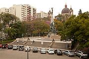 Porto Alegre_RS, Brasil...Praca Marechal Floriano em Porto Alegre, Rio Grande do Sul...Marechal Floriano square in Porto Alegre, Rio Grande do Sul...Foto: LUIZ FELIPE FERNANDES / NITRO