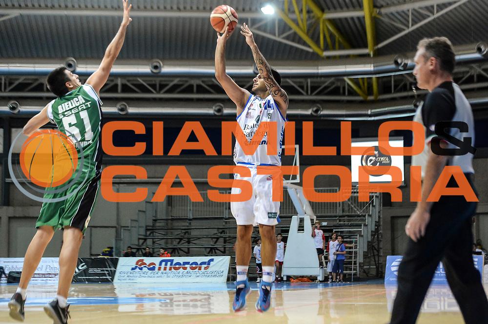 DESCRIZIONE : 3&deg; Torneo Internazionale Geovillage Olbia Dinamo Banco di Sardegna Sassari - Darussafaka Dogus Istanbul<br /> GIOCATORE : Brian Sacchetti<br /> CATEGORIA : Tiro Tre Punti Three Point<br /> SQUADRA : Dinamo Banco di Sardegna Sassari<br /> EVENTO : 3&deg; Torneo Internazionale Geovillage Olbia<br /> GARA : 3&deg; Torneo Internazionale Geovillage Olbia Dinamo Banco di Sardegna Sassari - Darussafaka Dogus Istanbul<br /> DATA : 05/09/2015<br /> SPORT : Pallacanestro <br /> AUTORE : Agenzia Ciamillo-Castoria/L.Canu