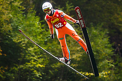 Ursa Bogataj during national competition in Ski Jumping, 8th of October, 2016, Kranj,  Slovenia. Photo by Grega Valancic / Sportida