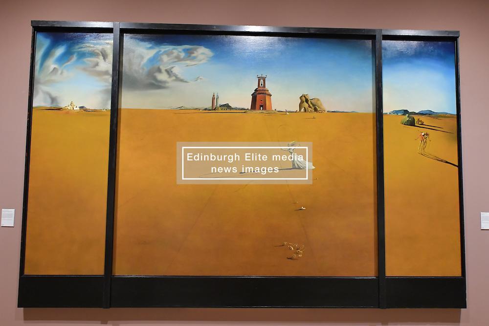 Salvador Dali, Landscape with a Girl Skipping Rope, Scottish National Gallery of Modern Art  (Modern One) Surreal Encounters Collection, Edinburgh, 2nd June 2016, <br /> (c) Brian Anderson | Edinburgh Elite media