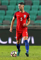Gary Cahill of England runs with the ball - Mandatory by-line: Robbie Stephenson/JMP - 11/10/2016 - FOOTBALL - RSC Stozice - Ljubljana, England - Slovenia v England - World Cup European Qualifier