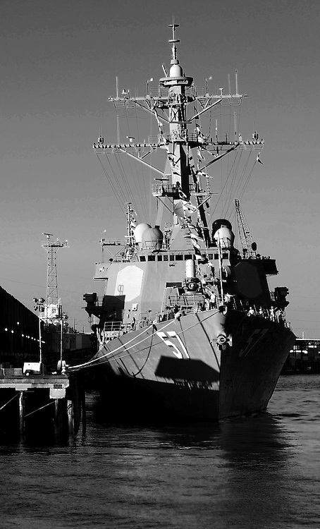 Photo By Michael R. Schmidt.US Navy ship, Missippi River New Orleans 2012.