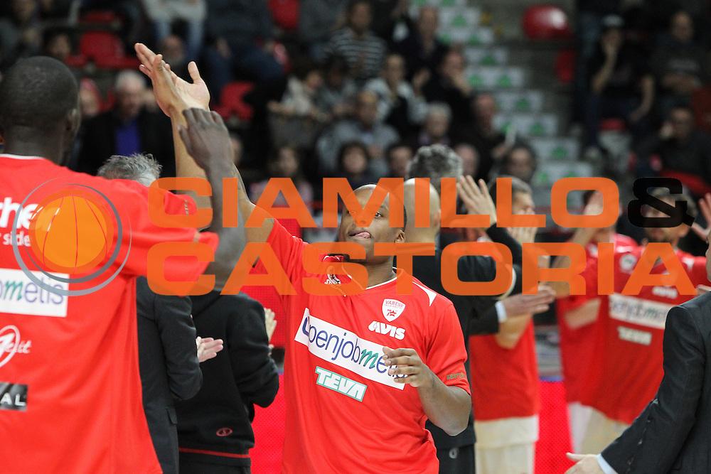 DESCRIZIONE: Varese Lega A 2015/16 <br /> Openjobmetis Varese vs Obiettivo Lavoro Bologna<br /> GIOCATORE: Maalik Wayns<br /> CATEGORIA: pregame<br /> SQUADRA: Openjobmetis Varese<br /> EVENTO: Campionato Lega A 2015-2016<br /> GARA: Openjobmetis Varese Obiettivo Lavoro Bologna<br /> DATA: 22/11/2015<br /> SPORT: Pallacanestro<br /> AUTORE: Agenzia Ciamillo-Castoria/A. Ossola<br /> Galleria: Lega Basket A 2015-2016<br /> Fotonotizia: Varese Lega A 2015-16 <br /> Openjobmetis Varese Obiettivo Lavoro Bologna