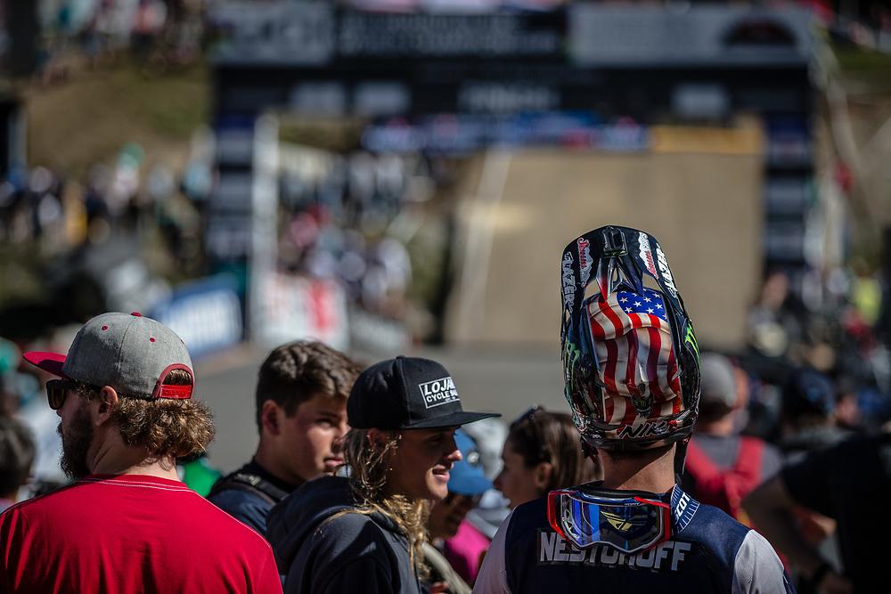 Team USA at the 2018 UCI MTB World Championships - Lenzerheide, Switzerland