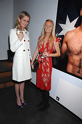 Left to right, EMMA PARKER-BOWLES and MARTHA WARD at a private view of Octagan a showcase of work of photographer Kevin Lynch featuring the stars of the Ultimate Fighter Championship held at Hamiltons gallery, Mayfair, London on 17th January 2008.<br /><br />NON EXCLUSIVE - WORLD RIGHTS