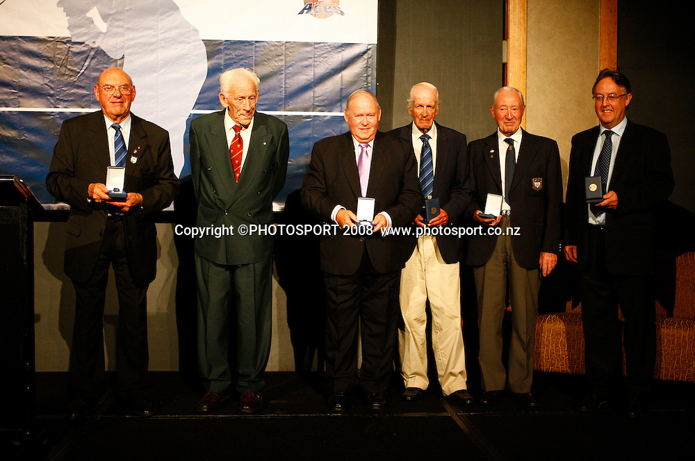 ICC Volunteers Medal recipients. Auckland Cricket Awards Evening. Eden Park, Auckland, New Zealand. Wednesday 15 April 2009. Photo: Simon Watts/PHOTOSPORT