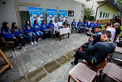 during press conference of Slovenian national cycling team before world championship in Yorkshire, Great Britain. Press conference held in Dvor Jezersek, on 17th of September, 2019, Kranj, Slovenia. Photo by Grega Valancic / Sportida