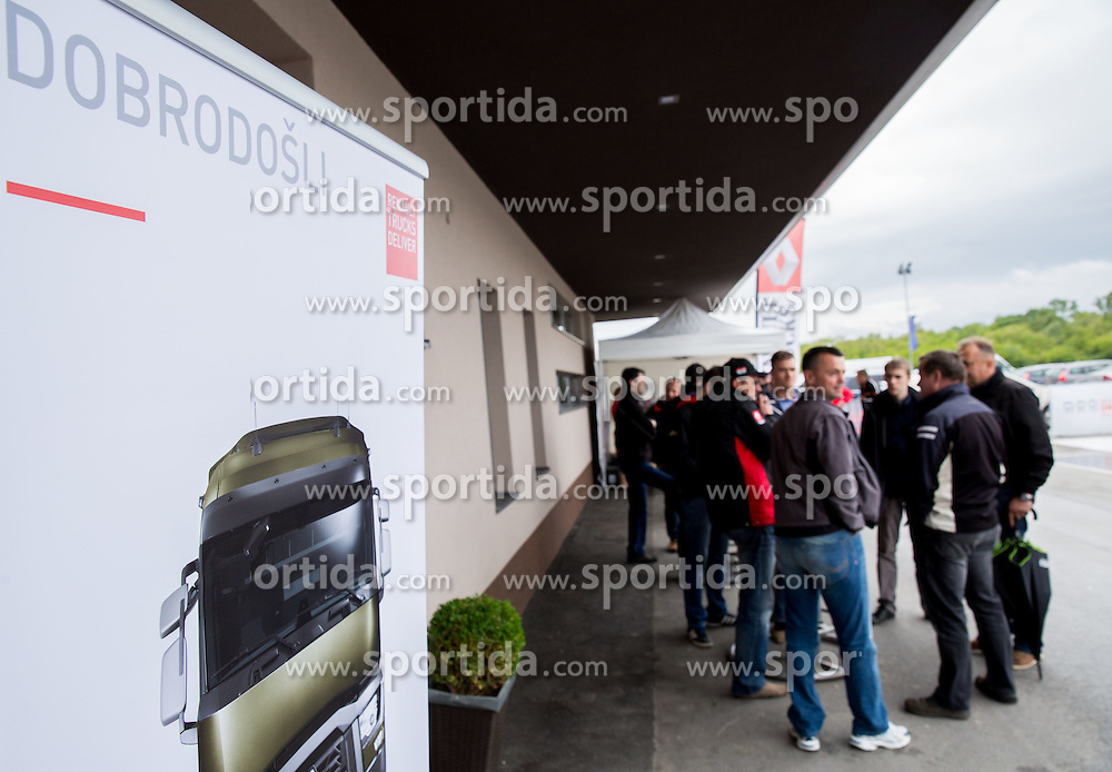 Renault Trucks event on May 17, 2014 in Raceland, Krsko, Slovenia. Photo by Vid Ponikvar / Sportida