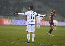 December 26, 2018 - Turin, Piedmont, Italy - Francesco Caputo of Empoli FC during the Serie A football match between Torino FC and Empoli FC at Olympic Grande Torino Stadium on December 26, 2018 in Turin, Italy..Torino won 3-0 over Empoli. (Credit Image: © Massimiliano Ferraro/NurPhoto via ZUMA Press)