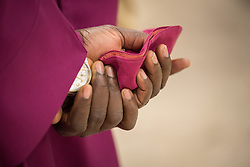 28 January 2018, Geneva, Switzerland: His Holiness Most Rev. Dr Rufus Okikiola Ositelu, primate of The Church of the Lord (Prayer Fellowship) Worldwide visits the World Council of Churches from 28-30 January in Geneva.