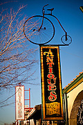 Antique store in the quaint historic town of Boulder City, NV