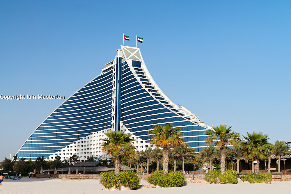 Luxury Jumeirah Beach hotel in Dubai United Arab Emirates