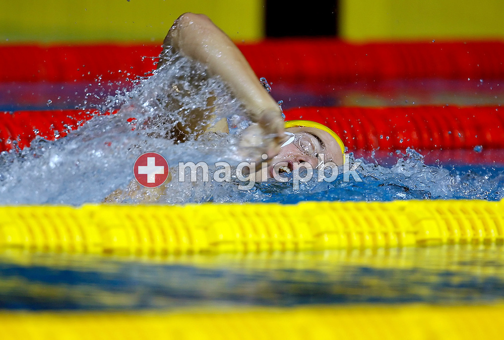 Nick FFROST of Australia swims the final leg in the men's 4x200m freestyle relay heats in the Susie O'Neill pool at the FINA Swimming World Championships in Melbourne, Australia, Friday 30 March 2007. (Photo by Patrick B. Kraemer / MAGICPBK)