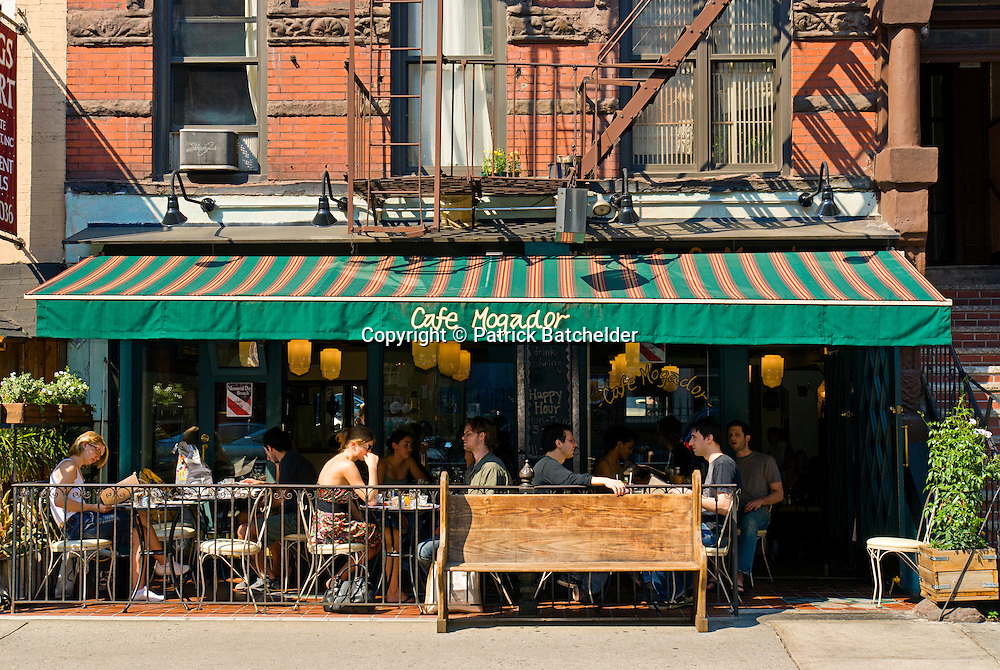 Cafe Outdoor Seating Nyc