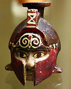Helmeted head, from Kamiros. Terracotta, 1621.
