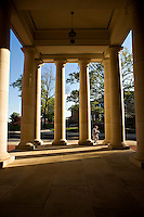OXFORD, MS - APRIL 12:   Arrival Pavilion on the campus of the University of Mississippi on April 12, 2008 in Oxford, Mississippi.  (Photo by Wesley Hitt/Getty Images) *** Local Caption ***