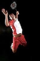 Chris Adcock England Badminton World Champinships 2011 photoshoot, NBC, Milton Keynes, England