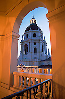 Pasadena City Hall Architecture, California