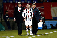 Onderwerp/Subject: Willem II - Eredivisie<br /> Reklame:  <br /> Club/Team/Country: <br /> Seizoen/Season: 2012/2013<br /> FOTO/PHOTO: Kees VAN BUUREN (C) of Willem II and Condition Trainer Henri AMELSFORT (R) of Willem II and Physiotherapist Raymond DE JONG (L) of Willem II injured. (Photo by PICS UNITED)<br /> <br /> Trefwoorden/Keywords: <br /> #03 #06 $94 &plusmn;1355239962240<br /> Photo- &amp; Copyrights &copy; PICS UNITED <br /> P.O. Box 7164 - 5605 BE  EINDHOVEN (THE NETHERLANDS) <br /> Phone +31 (0)40 296 28 00 <br /> Fax +31 (0) 40 248 47 43 <br /> http://www.pics-united.com <br /> e-mail : sales@pics-united.com (If you would like to raise any issues regarding any aspects of products / service of PICS UNITED) or <br /> e-mail : sales@pics-united.com   <br /> <br /> ATTENTIE: <br /> Publicatie ook bij aanbieding door derden is slechts toegestaan na verkregen toestemming van Pics United. <br /> VOLLEDIGE NAAMSVERMELDING IS VERPLICHT! (&copy; PICS UNITED/Naam Fotograaf, zie veld 4 van de bestandsinfo 'credits') <br /> ATTENTION:  <br /> &copy; Pics United. Reproduction/publication of this photo by any parties is only permitted after authorisation is sought and obtained from  PICS UNITED- THE NETHERLANDS