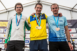 Medal ceremony during 6. Konjiski maraton / 6th Konjice marathon 2018, on September 30, 2018 in Slovenske Konjice, Slovenia. Photo by Grega Valancic/ Sportida