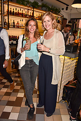 Lady Penny Mountbatten and her daughter Ella Mountbatten at a party to celebrate the launch of Hans' Bar & Grill, 11 Cadogan Gardens, Chelsea, London, England. 07 June 2018.