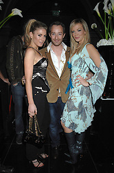 Left to right, HOFIT GOLAN, SCOTT HENSHALL and LIZ FULLER at the grand opening of the Amika nightclub, 65 High Street Kensington, London on 28th February 2007.<br /><br />NON EXCLUSIVE - WORLD RIGHTS