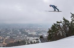 22.02.2019, Bergiselschanze, Innsbruck, AUT, FIS Weltmeisterschaften Ski Nordisch, Seefeld 2019, Skisprung, Herren, im Bild Dawid Kubacki (POL) // Dawid Kubacki of Poland during the men's Skijumping of FIS Nordic Ski World Championships 2019. Bergiselschanze in Innsbruck, Austria on 2019/02/22. EXPA Pictures © 2019, PhotoCredit: EXPA/ JFK