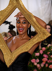 Tracee Ellis Ross attending the Metropolitan Museum of Art Costume Institute Benefit Gala 2019 in New York, USA.