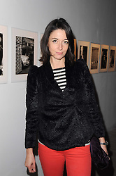 MARY McCARTNEY at a private view of Masters of Photography - A Journey presented by Macallan and Albert Watson held at Philips De Pury, Howick Place, London SW1 on 1st December 2010.