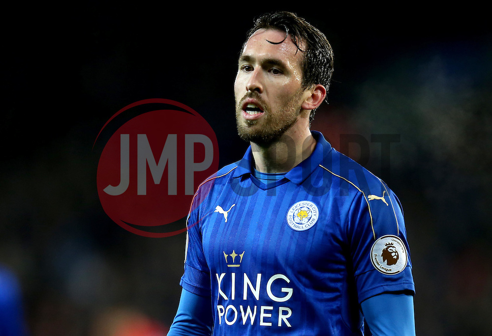 Christian Fuchs of Leicester City - Mandatory by-line: Robbie Stephenson/JMP - 27/02/2017 - FOOTBALL - King Power Stadium - Leicester, England - Leicester City v Liverpool - Premier League