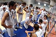 DESCRIZIONE : Roseto Degli Abruzzi Giochi del Mediterraneo 2009 Mediterranean Games Turchia Italia Turkey Italy Final Men<br /> GIOCATORE : Carlo Recalcati Team<br /> SQUADRA : Italia Italy<br /> EVENTO : Roseto Degli Abruzzi Giochi del Mediterraneo 2009<br /> GARA : Turchia Italia Turkey Italy <br /> DATA : 04/07/2009<br /> CATEGORIA : timeout team coach<br /> SPORT : Pallacanestro<br /> AUTORE : Agenzia Ciamillo-Castoria/C.De Massis<br /> Galleria : Giochi del Mediterraneo 2009<br /> Fotonotizia : Roseto Degli Abruzzi Giochi del Mediterraneo 2009 Mediterranean Games Turchia Italia Turkey Italy Final Men <br /> Predefinita :