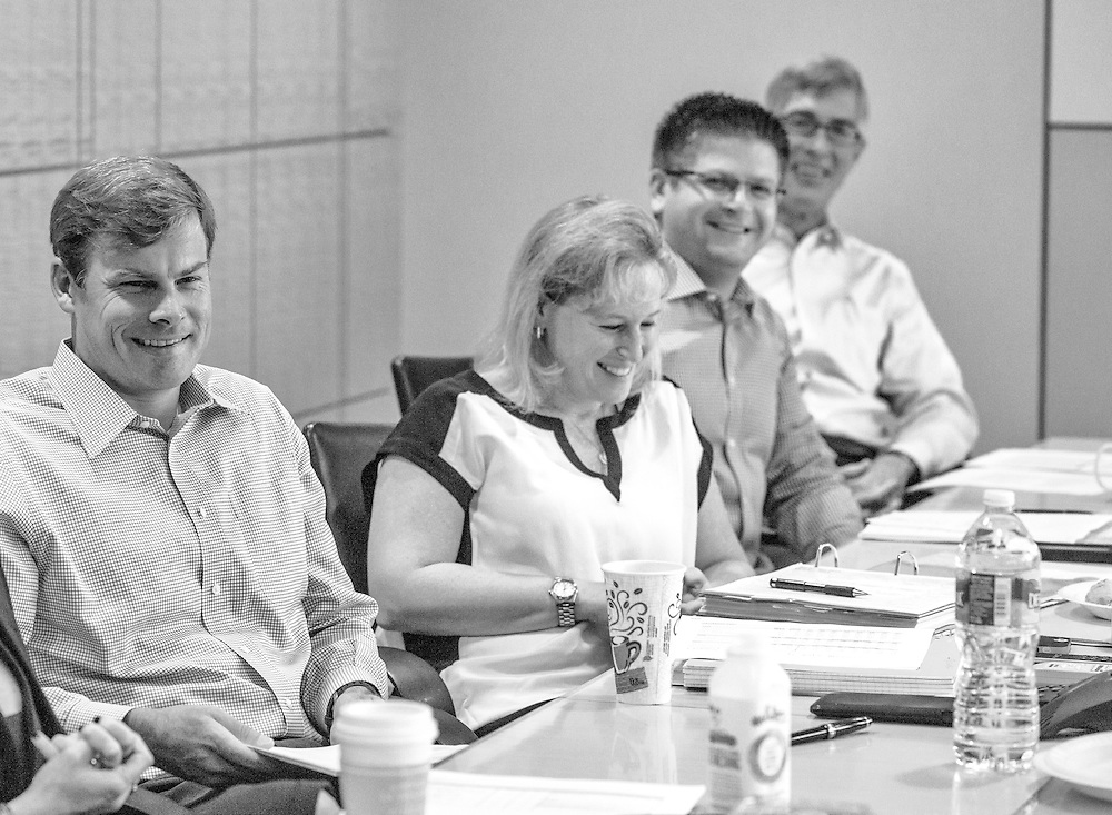 Baltimore, Maryland - July 21, 2014: ABS Capital Properties weekly meeting.<br /> CREDIT: Matt Roth